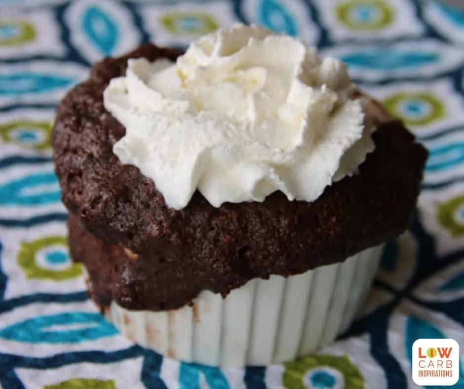 1 Minute Low Carb Brownies in a Mug Recipe
