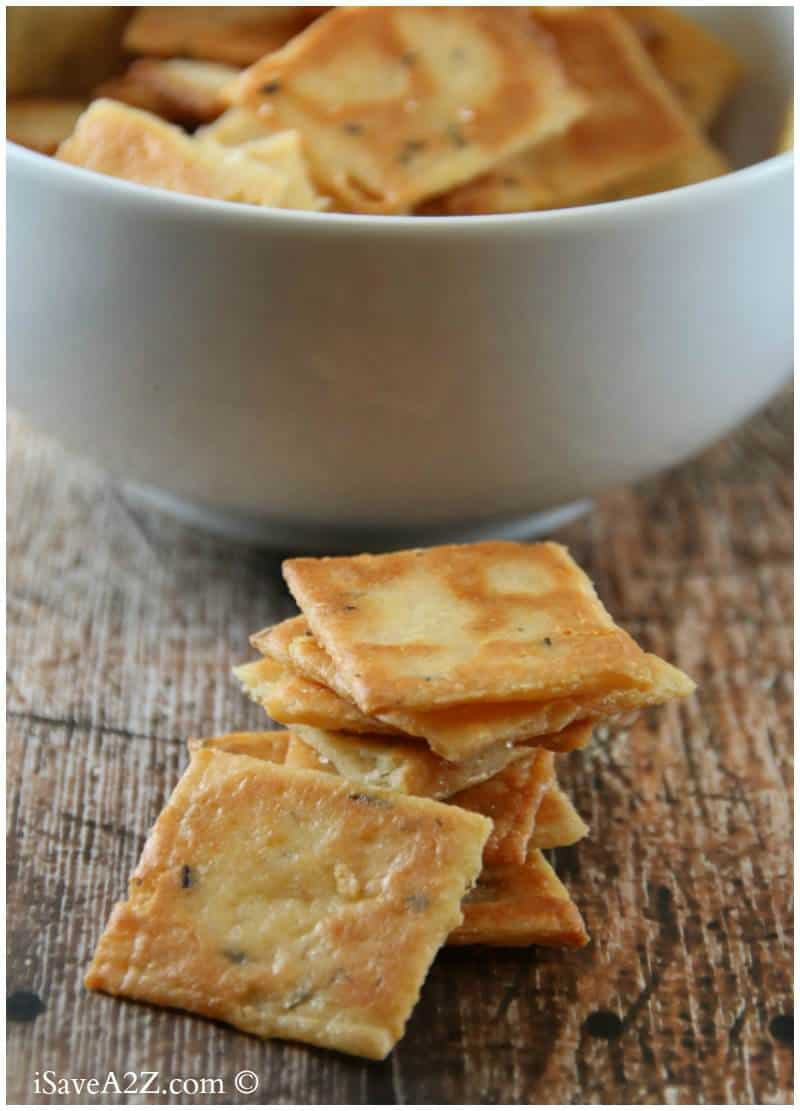 Easy Cheese Crackers Recipe (Low Carb Cracker Recipe)