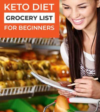 If you are just starting the keto diet, this keto diet grocery list for beginners is going to be a lifesaver for you. It will save you so much time and help you on your journey!