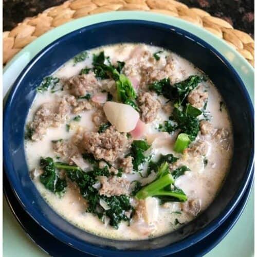 Keto Zuppa Toscana Soup Recipe
