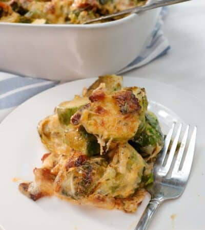 Low Carb Brussel Sprout Casserole Recipe