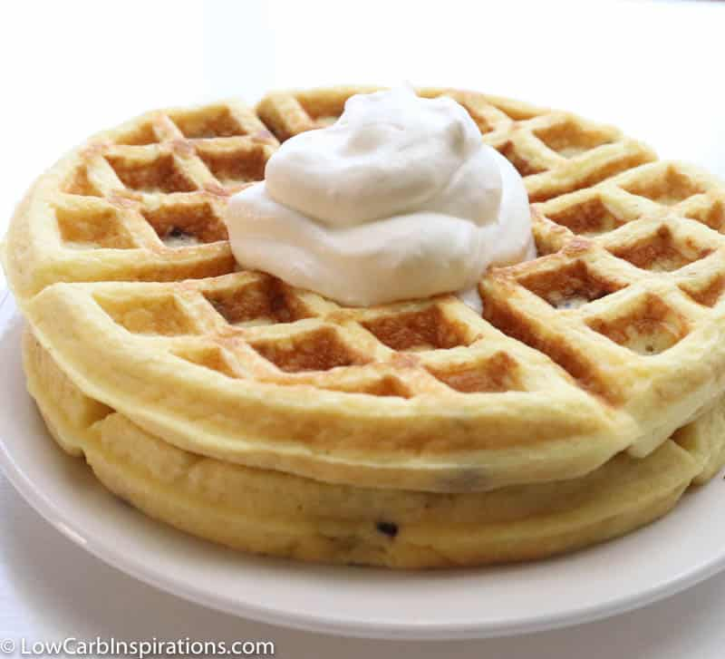Low Carb Fluffy Waffles Recipe