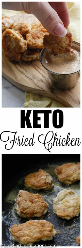 Low Carb Fried Chicken Recipe