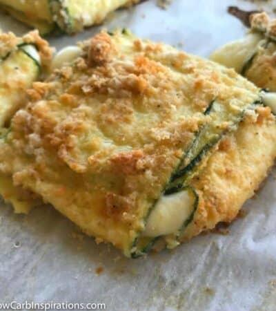 Low Carb Mozzarella Cheese Squares Recipe