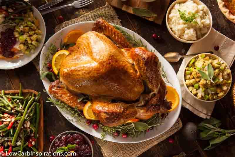 Low Carb Thanksgiving Turkey Recipe in Pickle Juice Brine