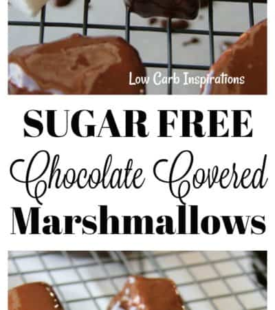 Sugar-Free Chocolate Covered Marshmallows