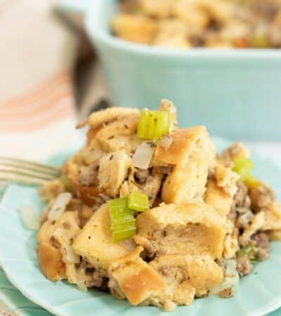 Simple Stuffing Recipe for Low Carb Diets