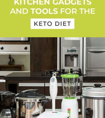 These useful kitchen gadgets and tools for the keto diet will help you on your journey. The second thing on my list is a lifesaver and I use it daily!