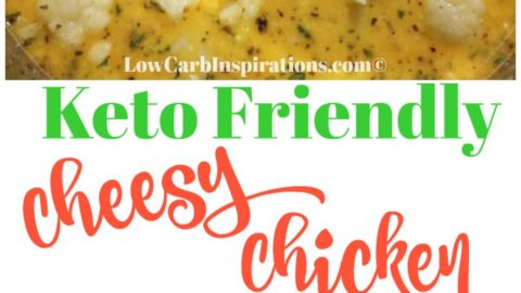 Keto Cheesy Chicken and Veggie Chowder Recipe