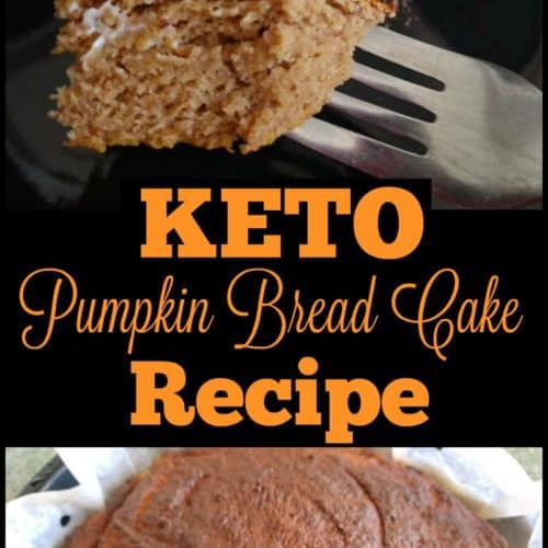 Keto Pumpkin Bread Cake Recipe