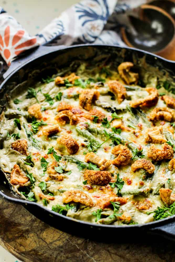Low Carb Green Bean Casserole Recipe