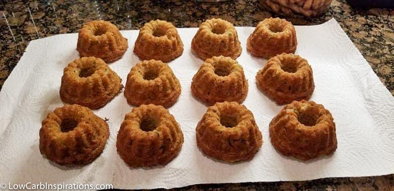 Keto Sweet Zucchini Bread Recipe