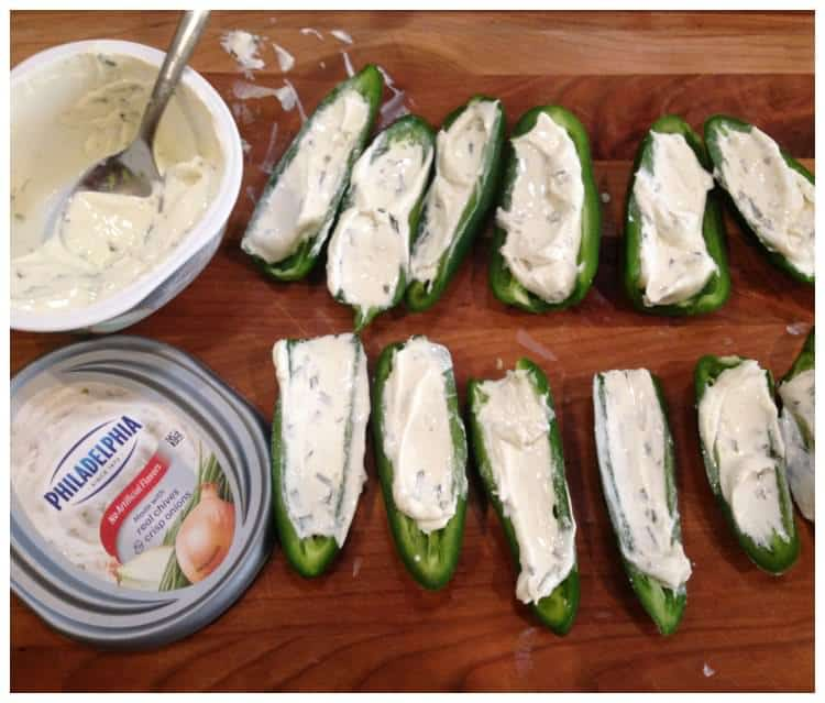 Easy Low Carb Bacon Wrapped Jalapeno Poppers with Cream Cheese Recipe