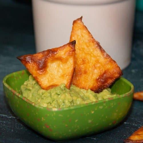 Homemade Crunchy Keto Chips Recipe