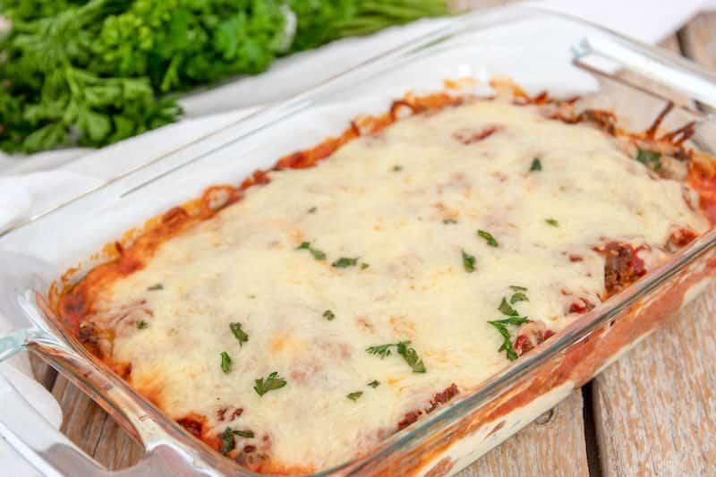 Keto Lasagna Noodles Recipe