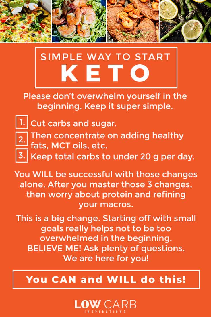 Easy Way To Start KETO Diet
