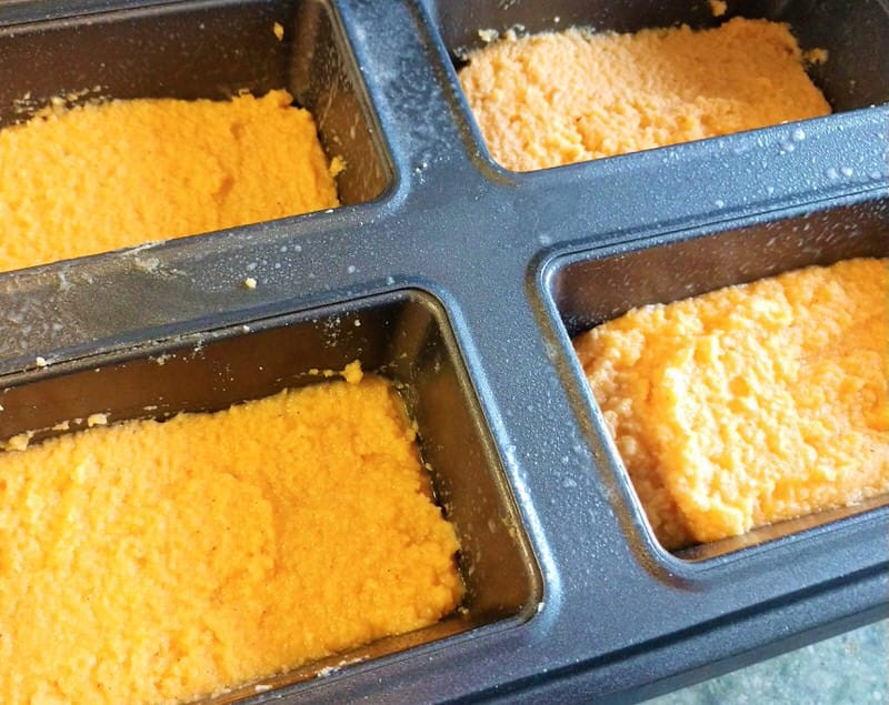 Keto Pumpkin Spice Bread Mini Loaf Recipe