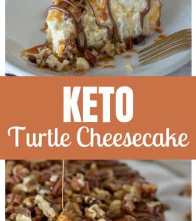 This keto caramel pecan turtle cheesecake is the best turtle cheesecake you will ever enjoy. It's keto-friendly and so delicious. You must try it!