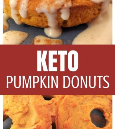 This keto pumpkin donuts with cream cheese recipe is definitely a delicious fall treat, but really could be enjoyed any time of the year.