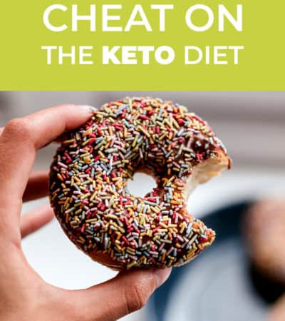 Cheating, when you're on any kind of diet, is pretty common. Here is what you do when you catch yourself cheating on keto. It's ok...you got this!