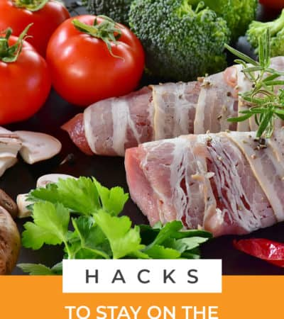 These hacks to stay on the keto diet will help you get the most success out your new healthy lifestyle. Tip #3 was a game changer and I know it will help you too!