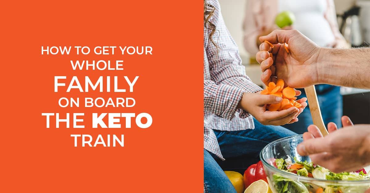 Getting the whole family on board the keto train might feel draining. There is a trick to getting everyone to love your keto food. Learn how to do it here!