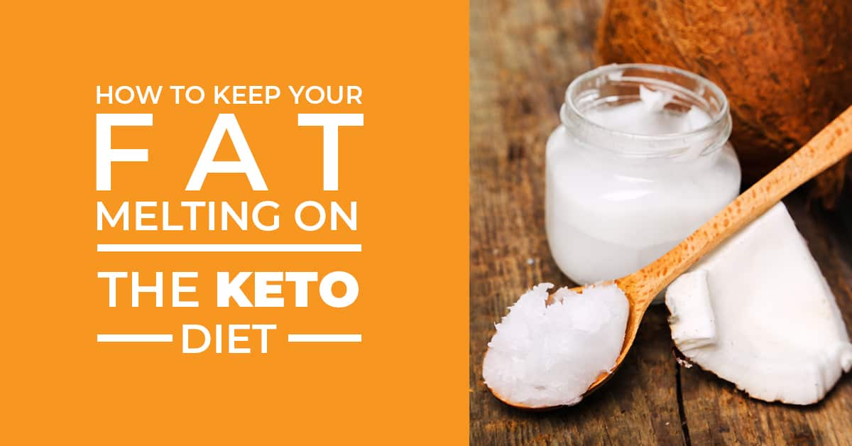 Keeping the fat melting on the keto diet may have you a bit confused. Don't worry because there are a lot of things you can do! Tip #4 was the trick that worked best for me!
