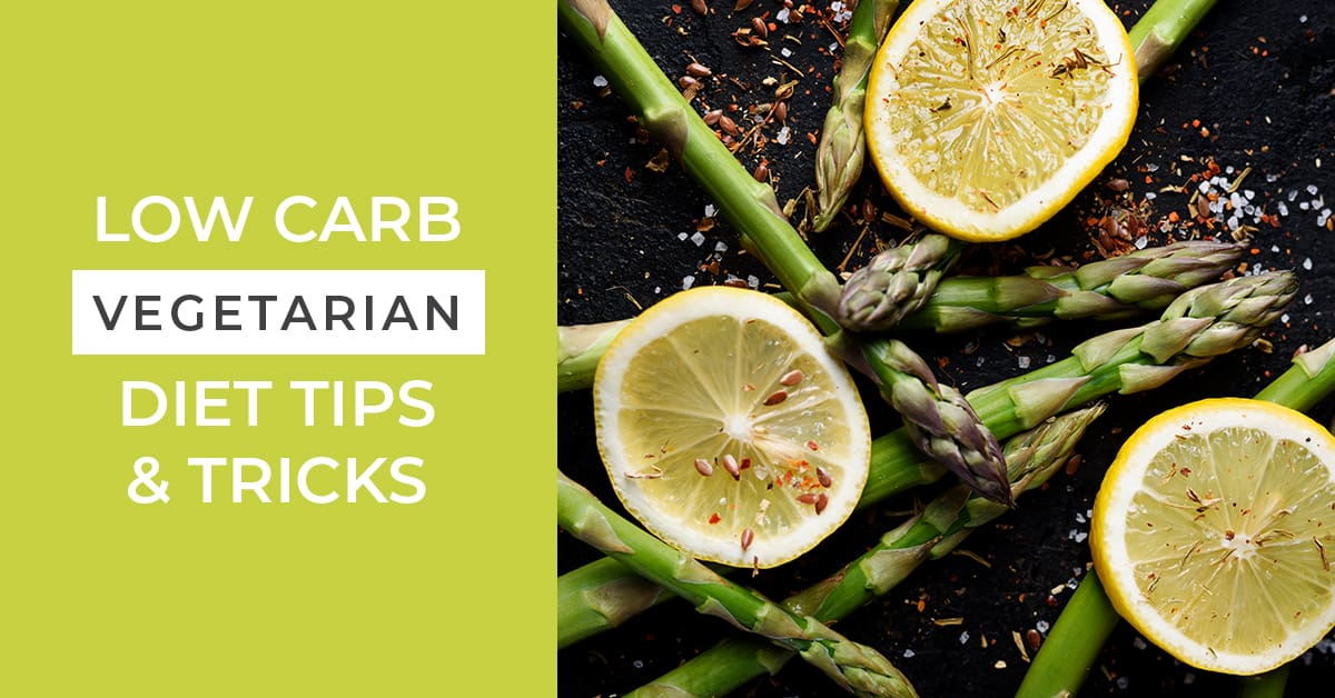 Are you a vegetarian looking for tips and tricks to live a low carb lifestyle?  These low carb vegetarian diet tips for success are just for you!