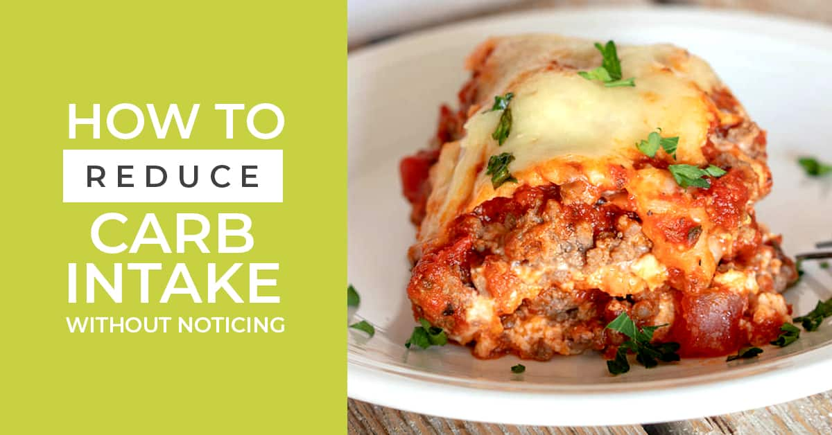 Reduce carb intake with these tips and you won't even notice that you have started to change your way of eating on the keto diet. Great tips inside!