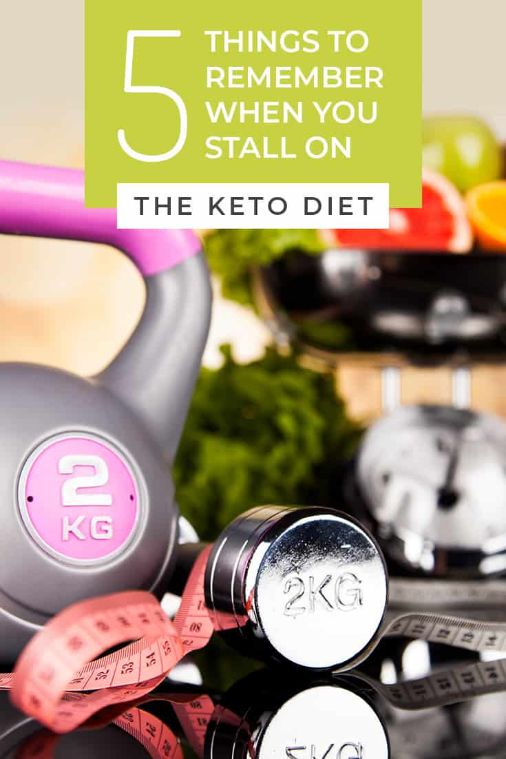 It's bound to happen to everyone who is on the ketogenic diet...the dreaded stalling phase. Here are 5 things to remember when you stall on keto and how you can get through the plateau.