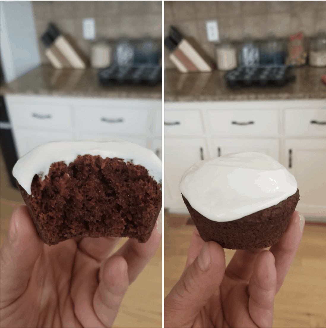 Keto Red Velvet Cupcakes with Cream Cheese Frosting