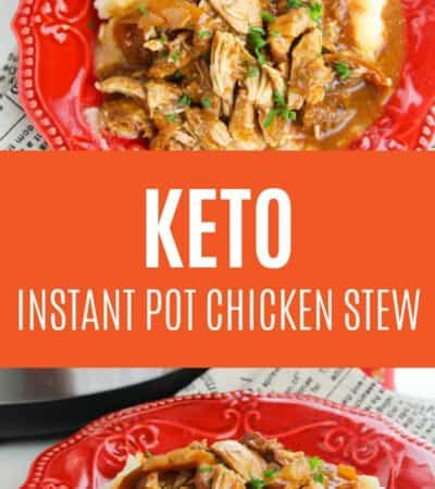 This instant pot chicken stew recipe is hearty & healthy for a chilly evening. You can have this amazing instant pot recipe ready in 30 minutes or less too!