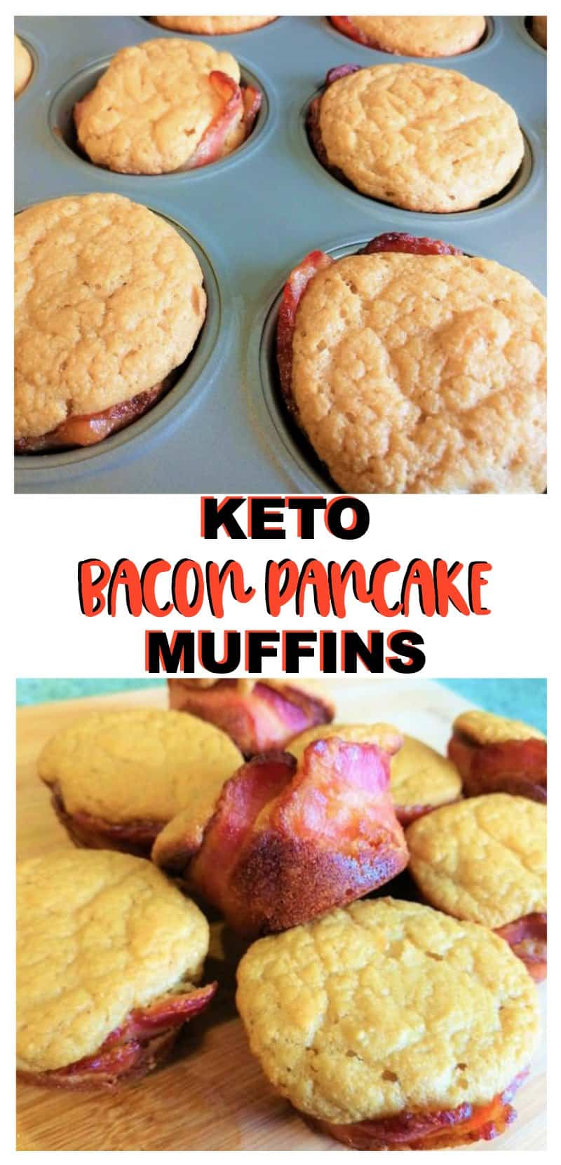 KETO Bacon Pancake Muffins Recipe
