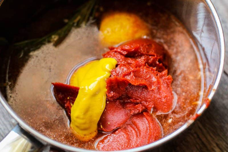 BBQ Keto Ribs with Keto BBQ Sauce