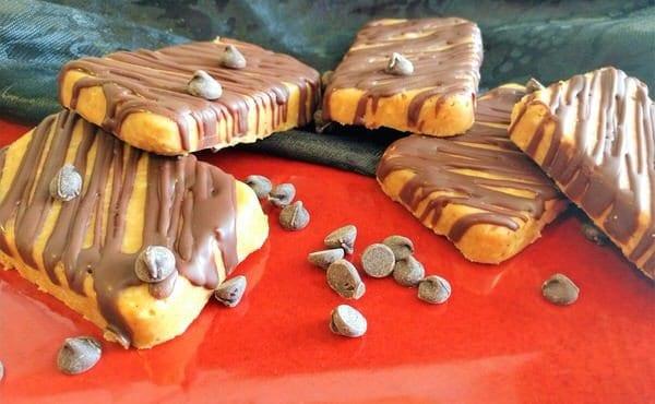 Keto No Bake Peanut Butter Coconut Bars Recipe