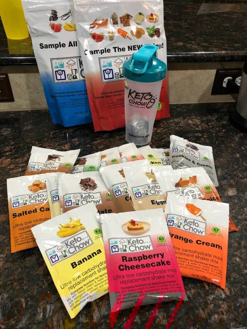 Keto Chow Keto Meal Replacement Shakes