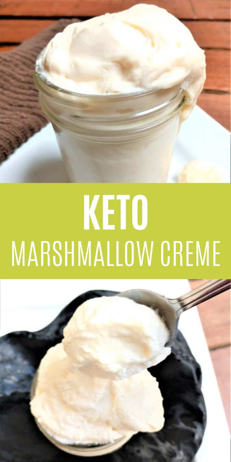 This keto marshmallow creme is delicious and brings back so many memories from my childhood! What comes to mind when you come across a jar of jet-puffed marshmallow creme?
