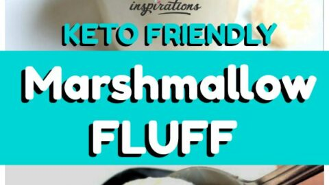 Keto Marshmallow Cream Fluff Recipe