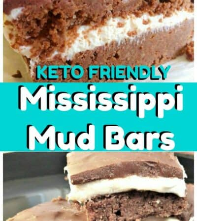 Keto Mississippi Mud Bars Recipe made with Marshmallow Fluff