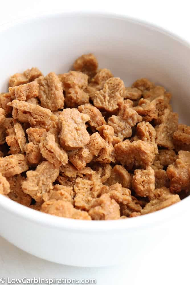 Almond Butter Krunch Keto Cereal Recipe