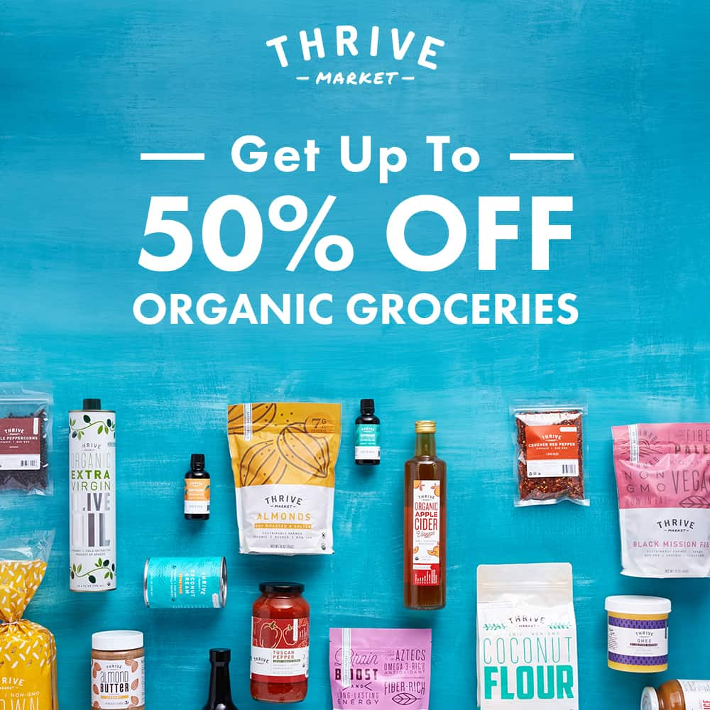 Thrive Market Keto Products I can buy online