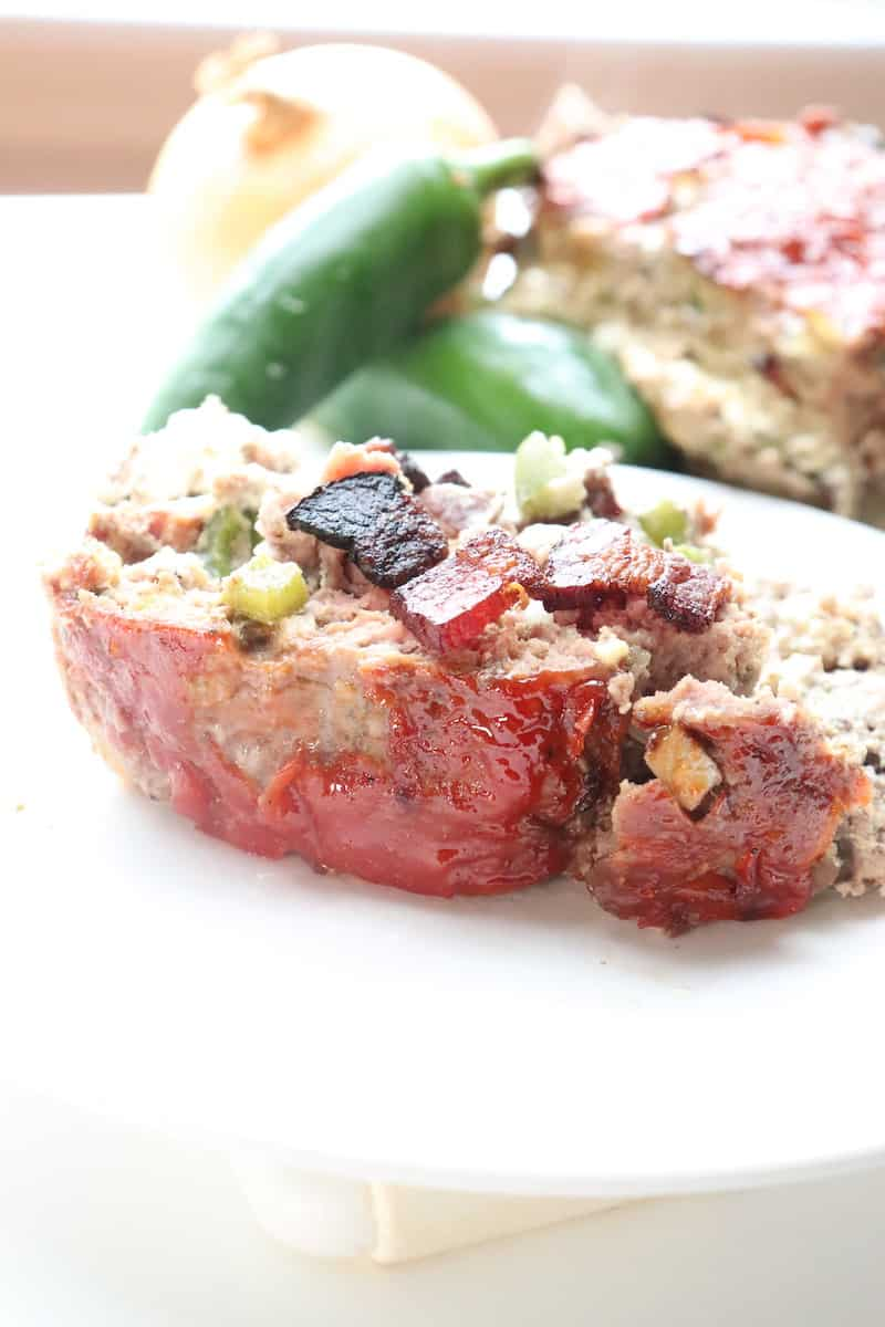 Jalapeno Popper Stuffed Meatloaf Recipe Low Carb