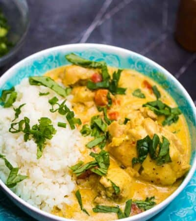 Keto Butter Chicken Recipe made in the Instant Pot