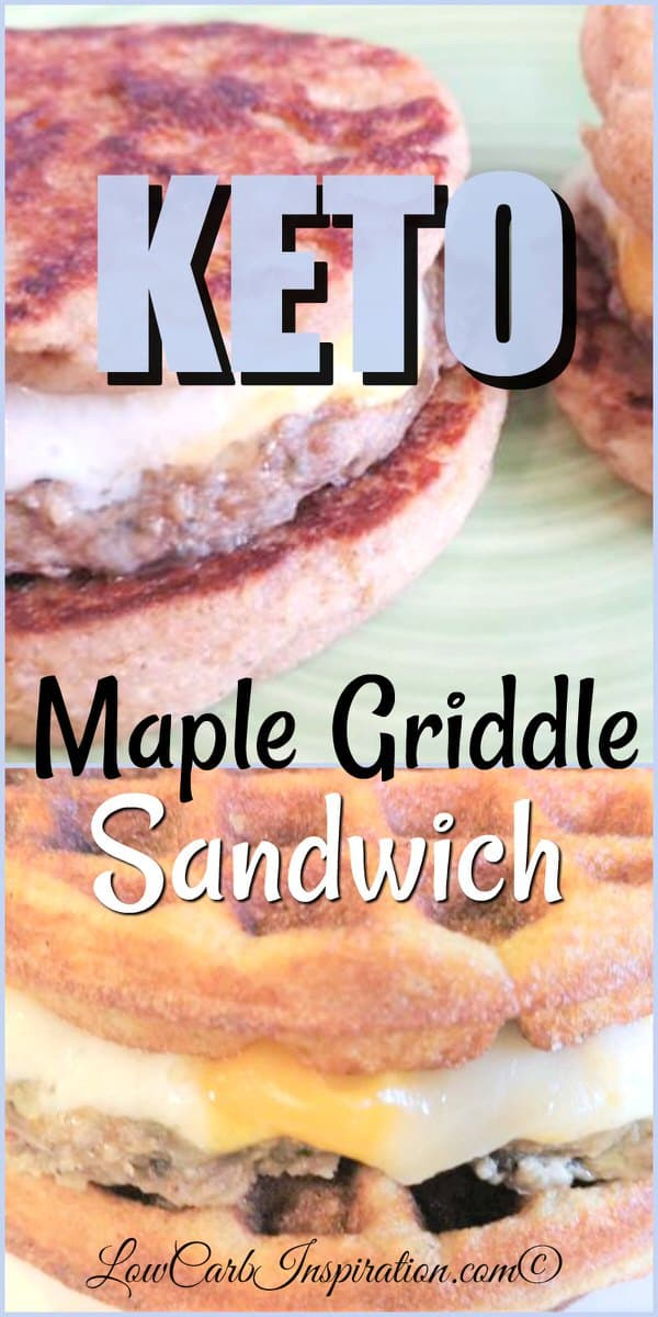 Keto Maple Griddle Sandwich Recipe
