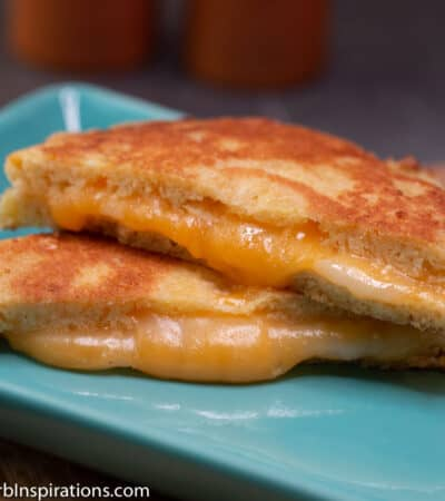 Keto Grilled Cheese Sandwich Recipe made with Keto Bread!