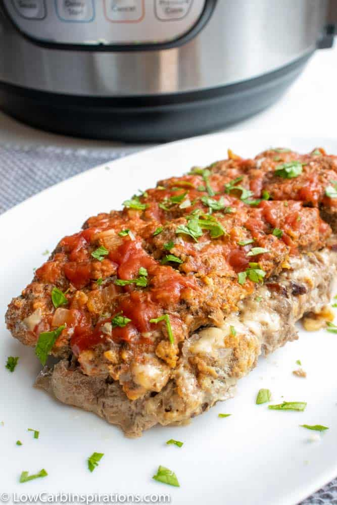 Instant Pot Meatloaf (Keto Friendly Recipe)