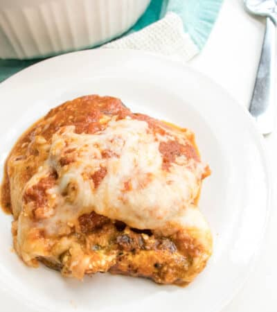You are going to love this Baked Keto Eggplant Parmesan recipe. So delicious and easy to make, this keto eggplant parmesan is the best you will ever have.
