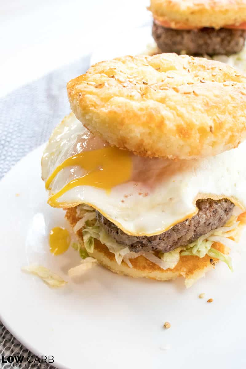 Keto Mamburger Buns recipe