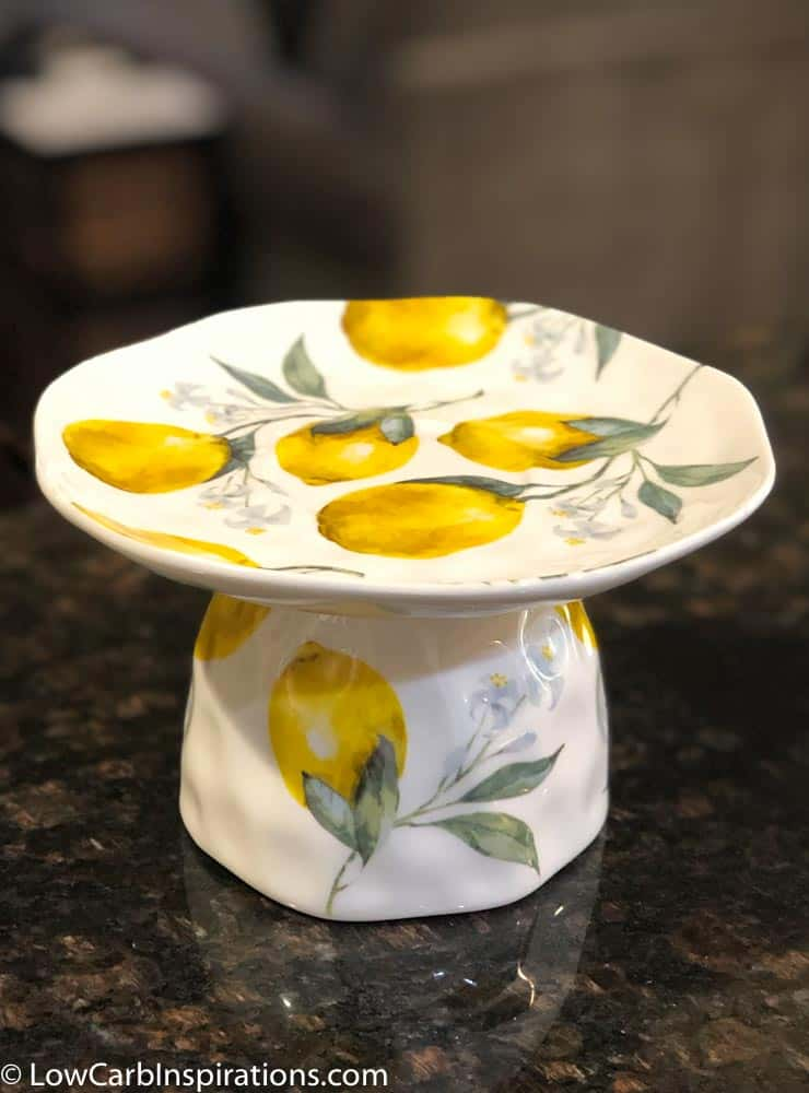 DIY Chaffle Cake Stand using a tea cup-4