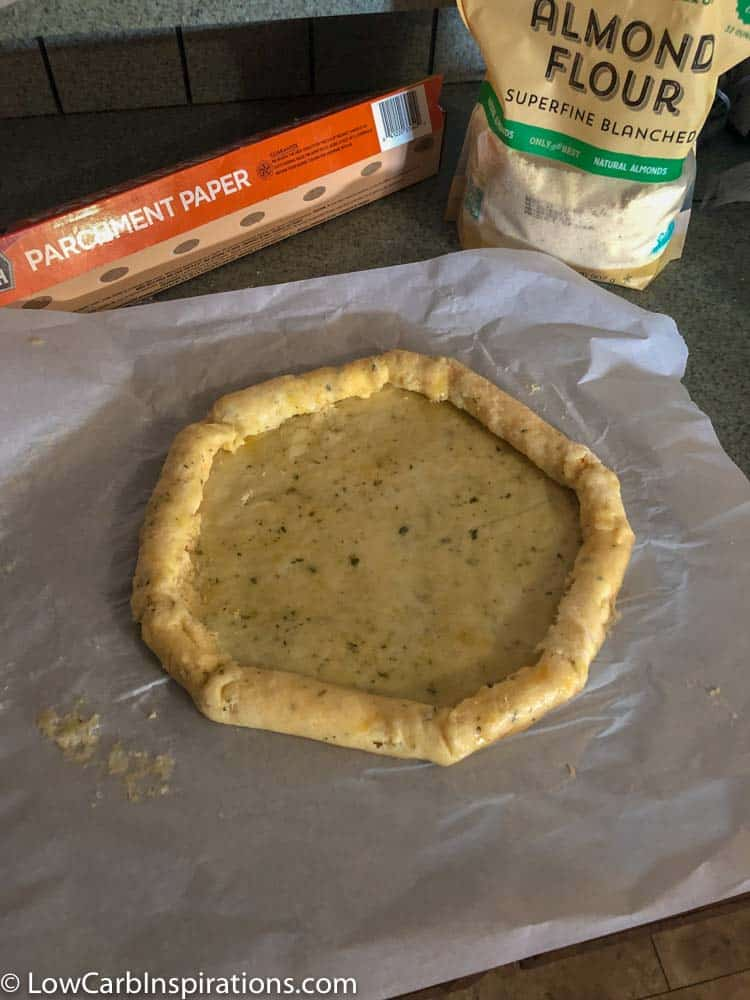 Deep Dish Cheese Stuffed Crust Keto Pizza Recipe